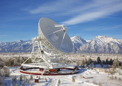 Badary radio astronomical observatory. Republic of Buryatia