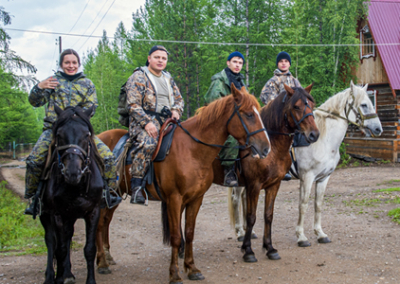 Horse Riding and Hiking Around Northern Baikal