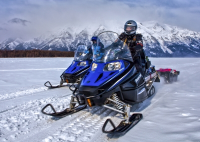 Extreme Snowmobile Expedition: Baikal from South to North